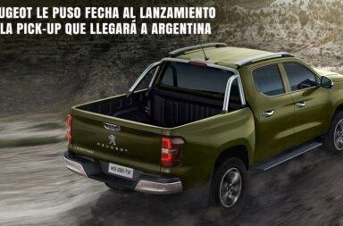 Peugeot le puso fecha al lanzamiento de la pick-up que llegará a Argentina