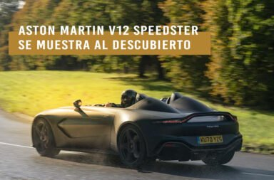 El Aston Martin V12 Speedster se muestra al descubierto