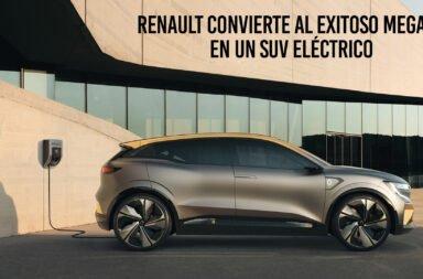 Renault convierte al exitoso Megane en un SUV eléctrico