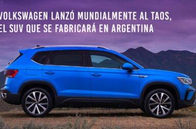 Volkswagen lanzó mundialmente al Taos, el SUV que se fabricará en Argentina