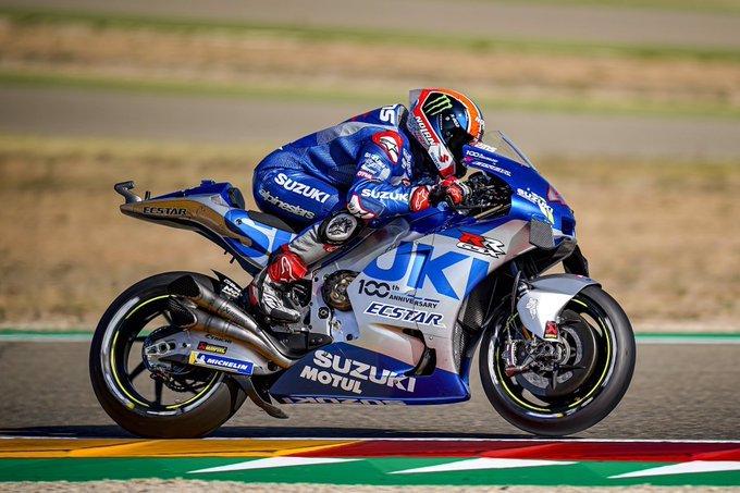 Rins le dio el primer triunfo de la temporada a Suzuki en el Moto GP