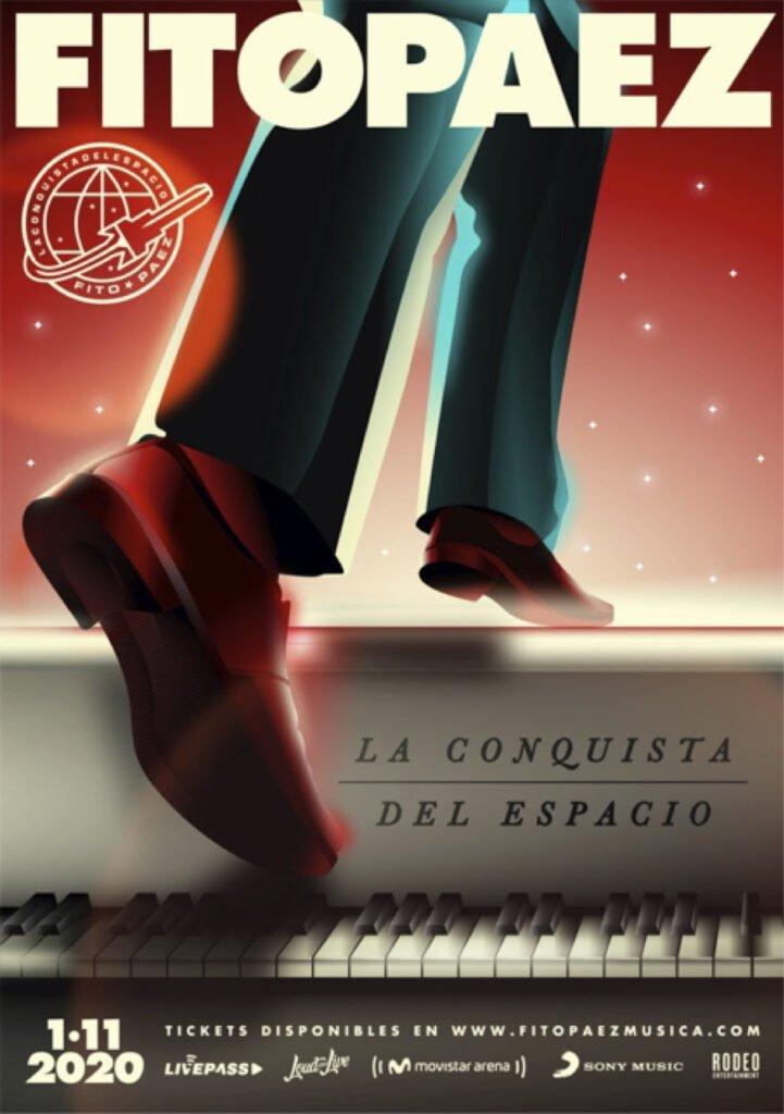 Fito Páez presenta 'La conquista del espacio' vía streaming