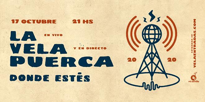 La Vela Puerca presenta su primer streaming: 'Donde estés'
