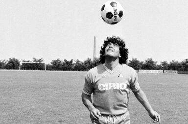 Maradona y su relación con la música