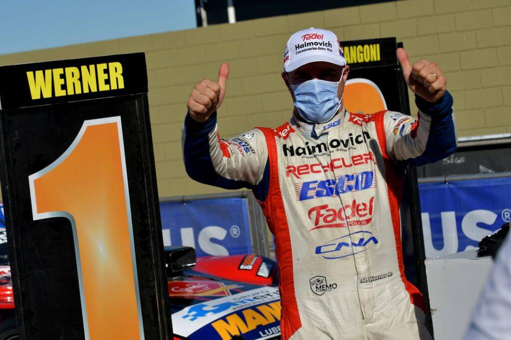 Werner ganó la competencia de domingo y redondeó un fin de semana perfecto de TC