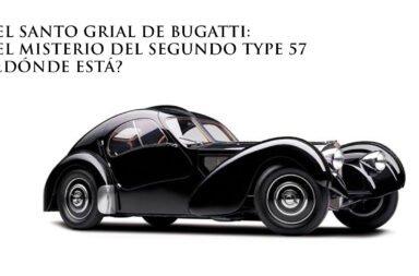El Santo Grial de Bugatti: El misterio del segundo Type 57 ¿Dónde está?