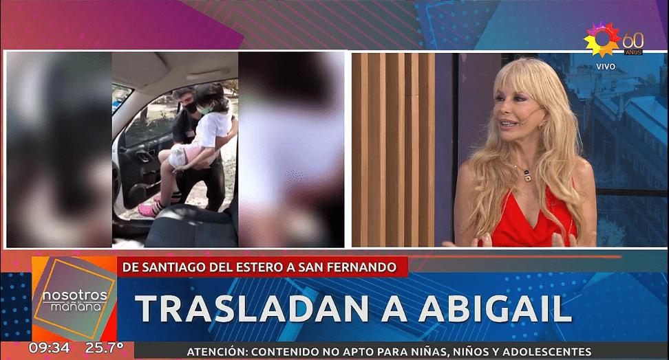 Graciela Alfano se sumó a 'Nosotros a la Mañana'
