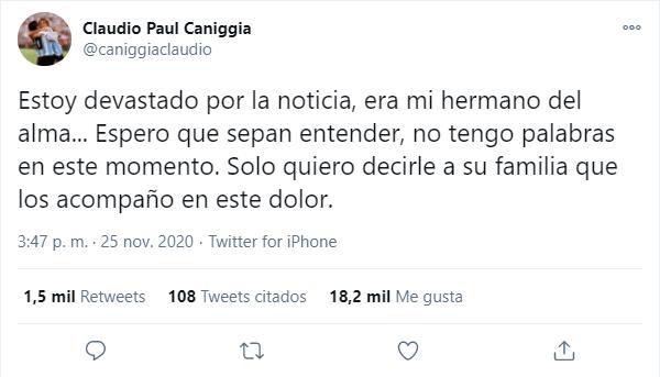 Claudio Paul Caniggia: