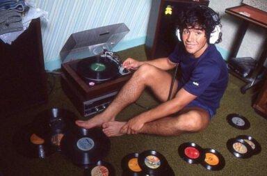 Las mejores diez canciones sobre Diego Maradona