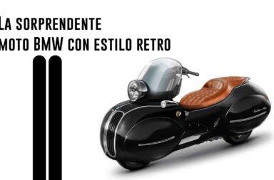 La sorprendente moto BMW con estilo retro
