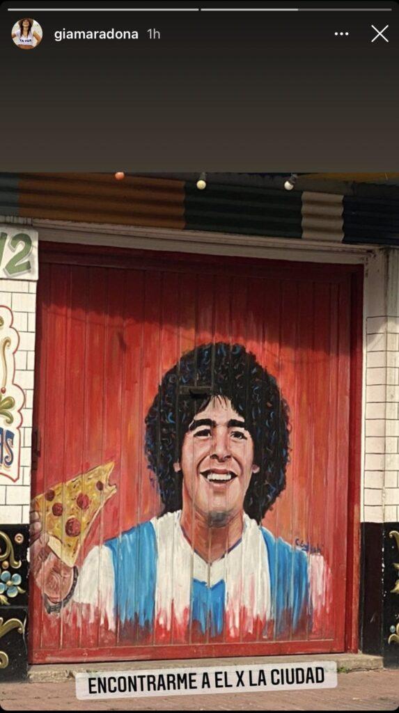El posteo de Gianinna sobre Diego Maradona, minutos antes de confirmar su fallecimiento
