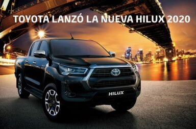 Toyota Argentina develó la nueva Hilux 2021