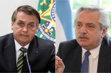 Alberto Fernández y Jair Bolsonaro dialogaron en el Día de la Amistad Argentino-Brasileña