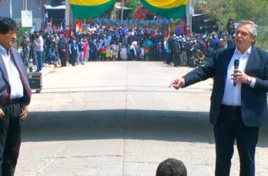 Alberto Fernández despidió a Evo Morales en su regreso a Bolivia