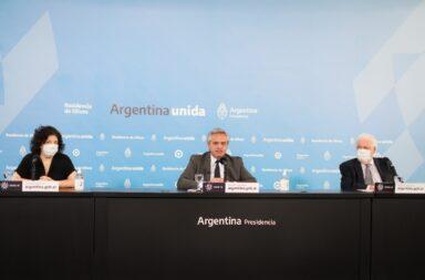 """Fernández anunció el fin del aislamiento en el AMBA y anunció que se pondrá al frente de la """"epopeya de ponerle fin al virus con la vacuna"""""""