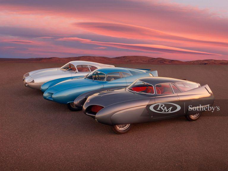 Pagan 14,8 millones de dólares por tres prototipos clásicos de Alfa Romeo