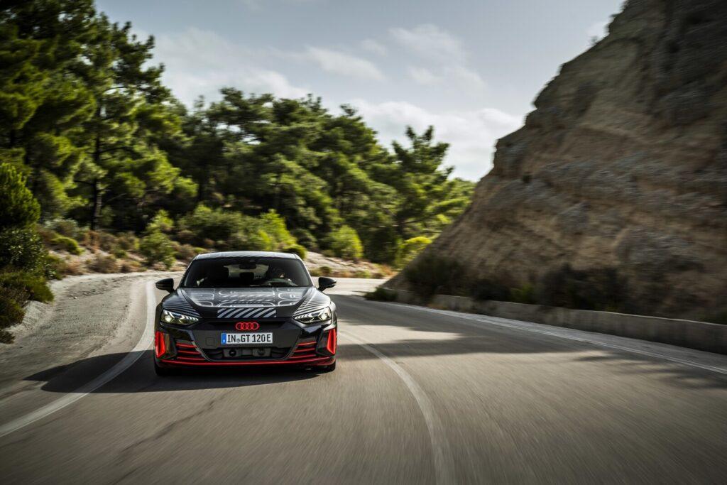 E-Tron GT Prototype: Audi sigue develando detalles de su primer RS 100% eléctrico