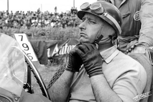 El casco más lindo de la historia de la Fórmula 1 es el de Juan Manuel Fangio