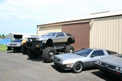 D Rex: El DeLorean DMC-12 que se transformó en un Monster Truck