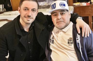 Matías Morla vuelve a manejar la marca Maradona