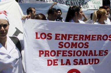 Enfermeros marcharán a la casa de Rodríguez Larreta en reclamo de mejoras laborales