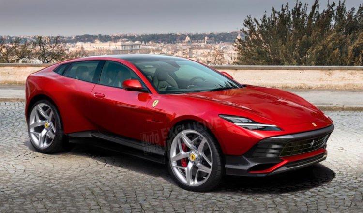 El primer SUV de Ferrari se deja ver con camuflaje
