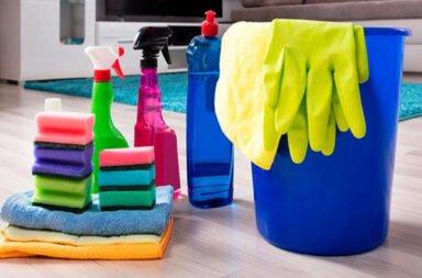 6 prácticos hábitos saludables de limpieza en el hogar