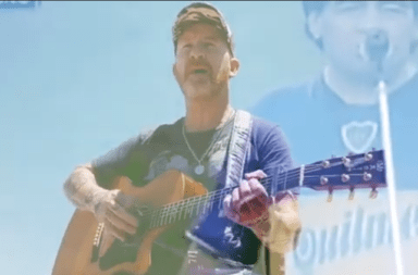 Rolo de 'La Beriso' y una emotiva canción a Maradona