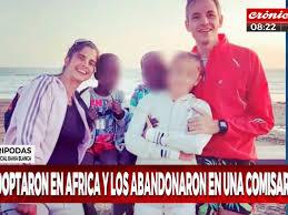 Mellizos de 6 años fueron adoptados en África y abandonados en Bahía Blanca