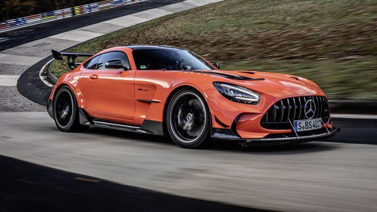 El nuevo rey de Nürburgring es el Mercedes-AMG GT Black Series