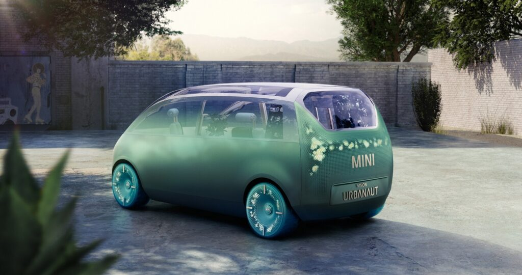 Mini Vision Urbanaut: Un living rodante para la movilidad del futuro