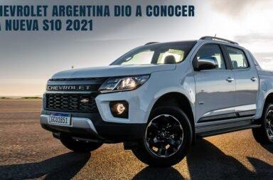 Chevrolet Argentina dio a conocer la nueva S10 2021