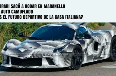 Ferrari sacó a rodar en Maranello un auto camuflado ¿Es el futuro deportivo de la casa italiana?
