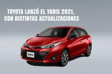 Toyota Argentina lanzó la actualización del Yaris
