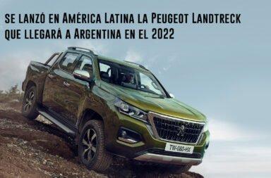 Se lanzó en América Latina la Peugeot Landtreck que llegará a Argentina en el 2022