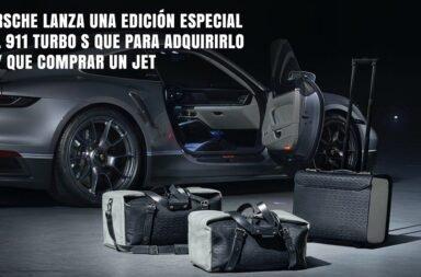Porsche lanza una edición especial del 911 Turbo S que para adquirirlo hay que comprar también un Jet