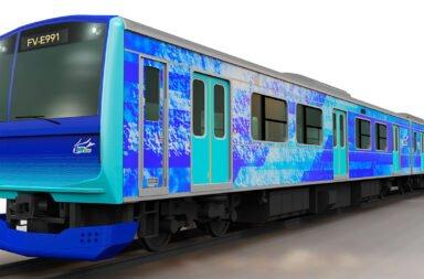 Toyota desarrolla un tren a hidrógeno que llegará para el 2022
