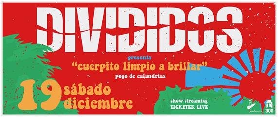Divididos Presenta su show por streaming: