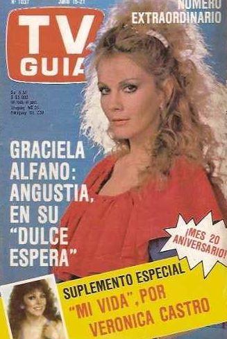 Eternamente bella: Graciela Alfano cumple años