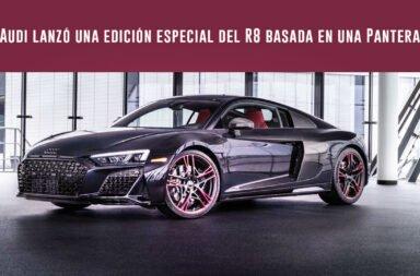 Audi lanzó una edición especial del R8 basada en una Pantera