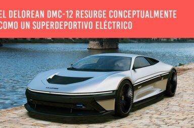 El DeLorean DMC-12 resurge conceptualmente como un superdeportivo eléctrico