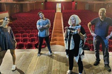 Fede Bal y Cinthia Fernández se preparan para el estreno de