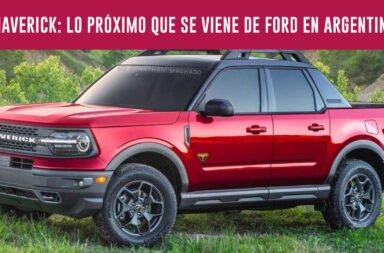Maverick: Lo próximo que se viene de Ford en Argentina