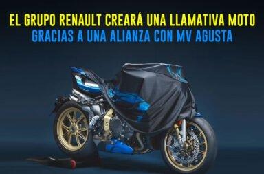 El grupo Renault creará una llamativa moto gracias a una alianza con MV Agusta