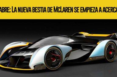 Sabre: La nueva bestia de McLaren se empieza a acercar
