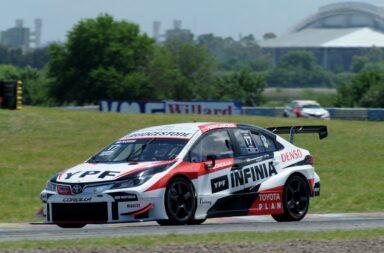 Rossi se quedó con el primer triunfo del fin de semana en Buenos Aires