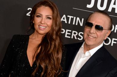 Thalía festeja sus 20 años de matrimonio