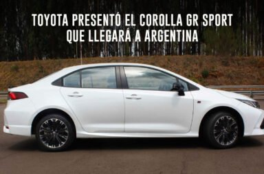 Toyota presentó el Corolla GR Sport que llegará a Argentina