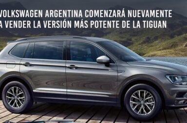 Volkswagen Argentina comenzó nuevamente a vender la versión más potente de la Tiguan