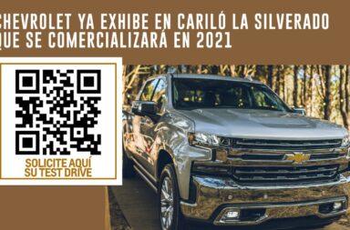 Chevrolet ya exhibe en Cariló la Silverado que se comercializará en el 2021